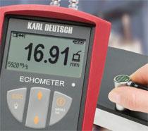 Tjockleksmätare Echometer 1076 TC Upp Till 400mm
