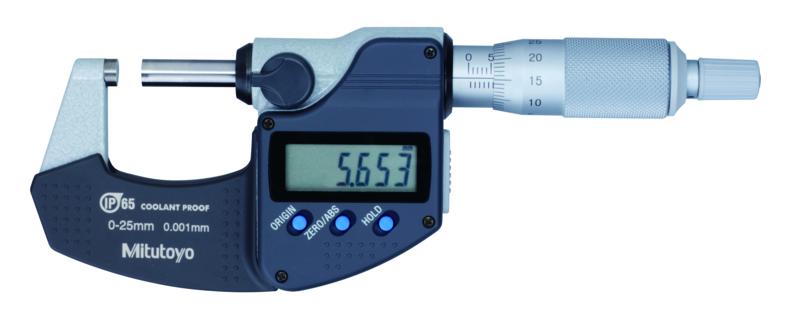 Digital Mikrometer 293-Serien IP65