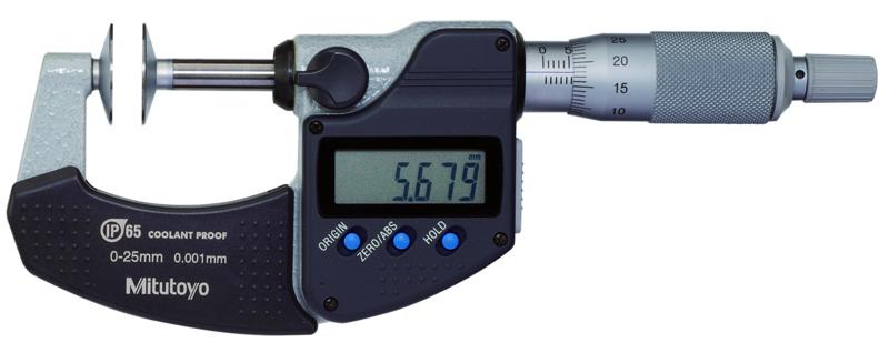 Digital Bygelmikrometer 323-Serien Tallriksmodell