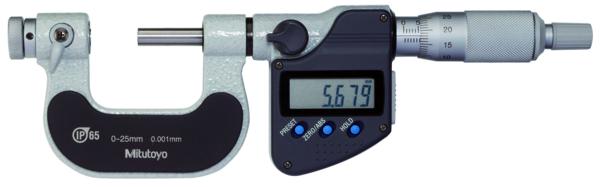 Digital Gängmikrometer 326-serien Med Utbytbara Spetsar