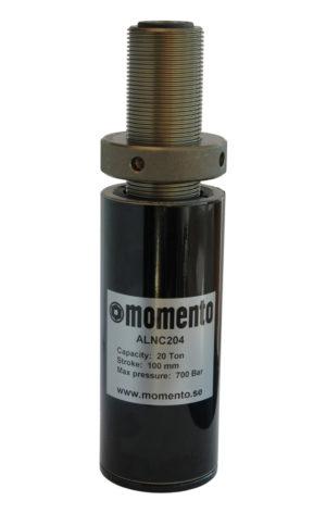 Aluminiumcylindrar ALNC-serien /m Låsmutter
