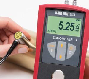 Tjockleksmätare Echometer 1076 Basic Upp Till 400mm